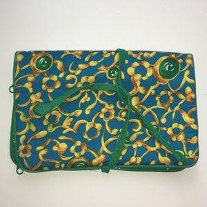 OSCAR DE LA RENTA Cosmetic/Jewelry Bag